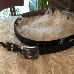 Michael Michael Kors Leather Belt